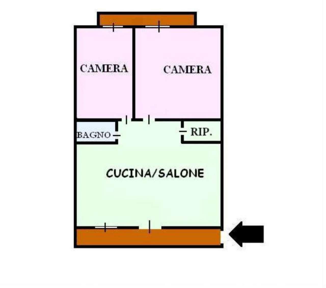 Appartamento in vendita a San Giorgio a Cremano, 1 locali, prezzo € 58.000 | Cambio Casa.it