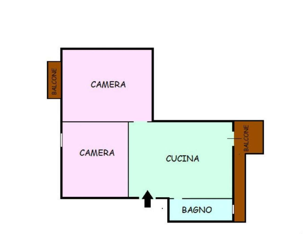 Vendita  bilocale Napoli  1 1003279