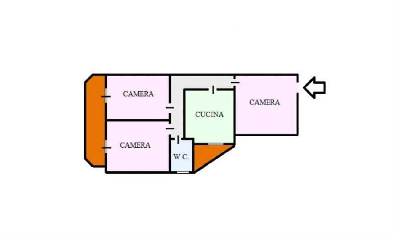 Appartamento in affitto a Cercola, 3 locali, prezzo € 500 | CambioCasa.it