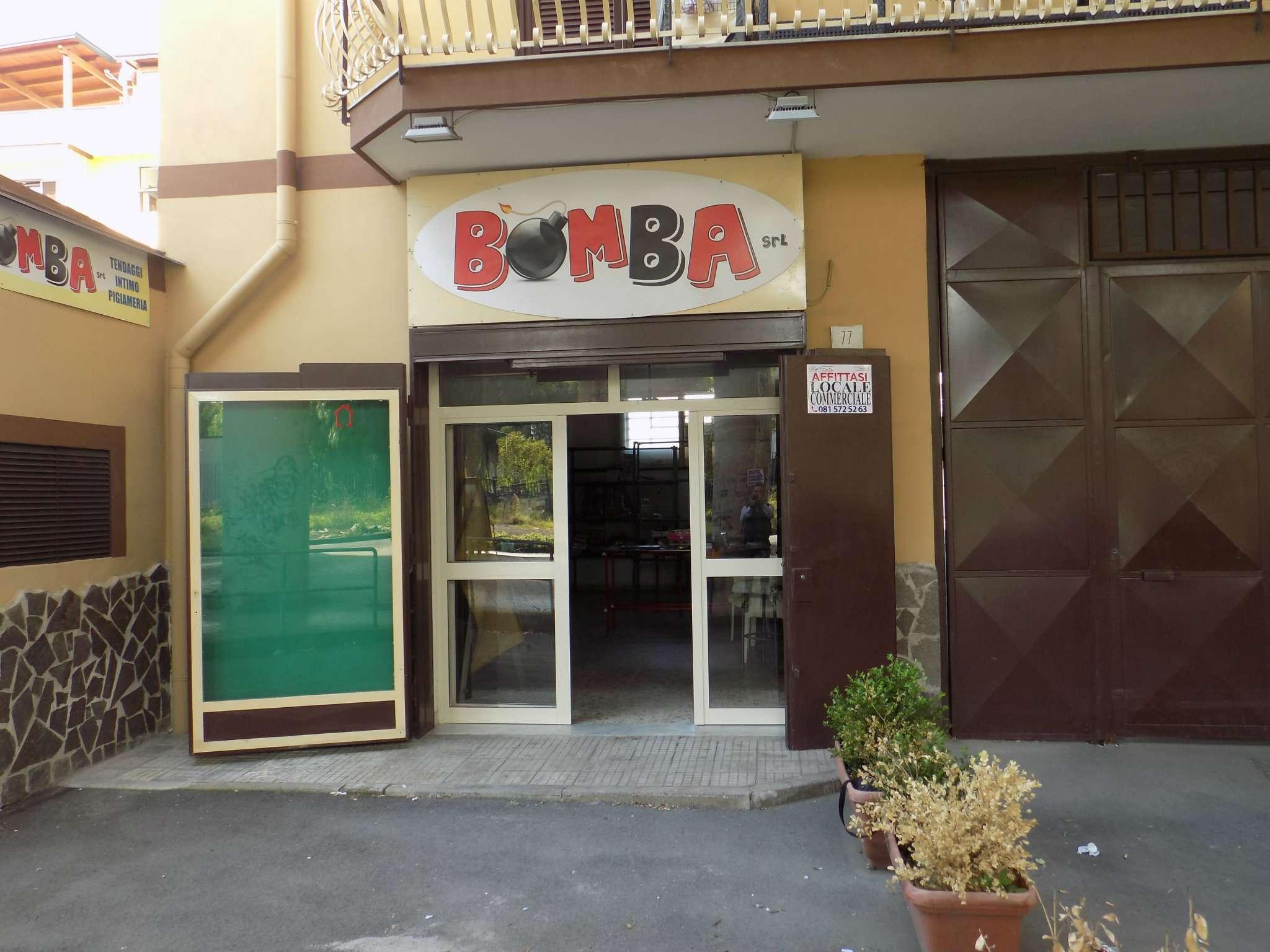 Negozio / Locale in affitto a Napoli, 1 locali, zona Zona: 6 . Ponticelli, Barra, San Giovanni a Teduccio, prezzo € 400   Cambio Casa.it