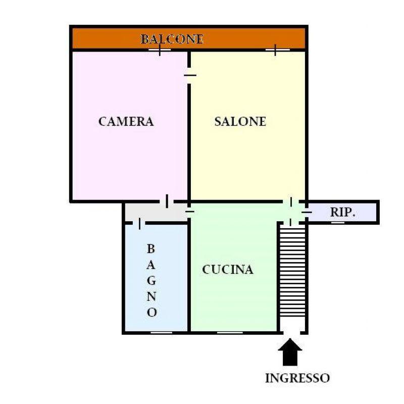 Vendita  bilocale San Giorgio a Cremano Via Botteghelle 1 943938