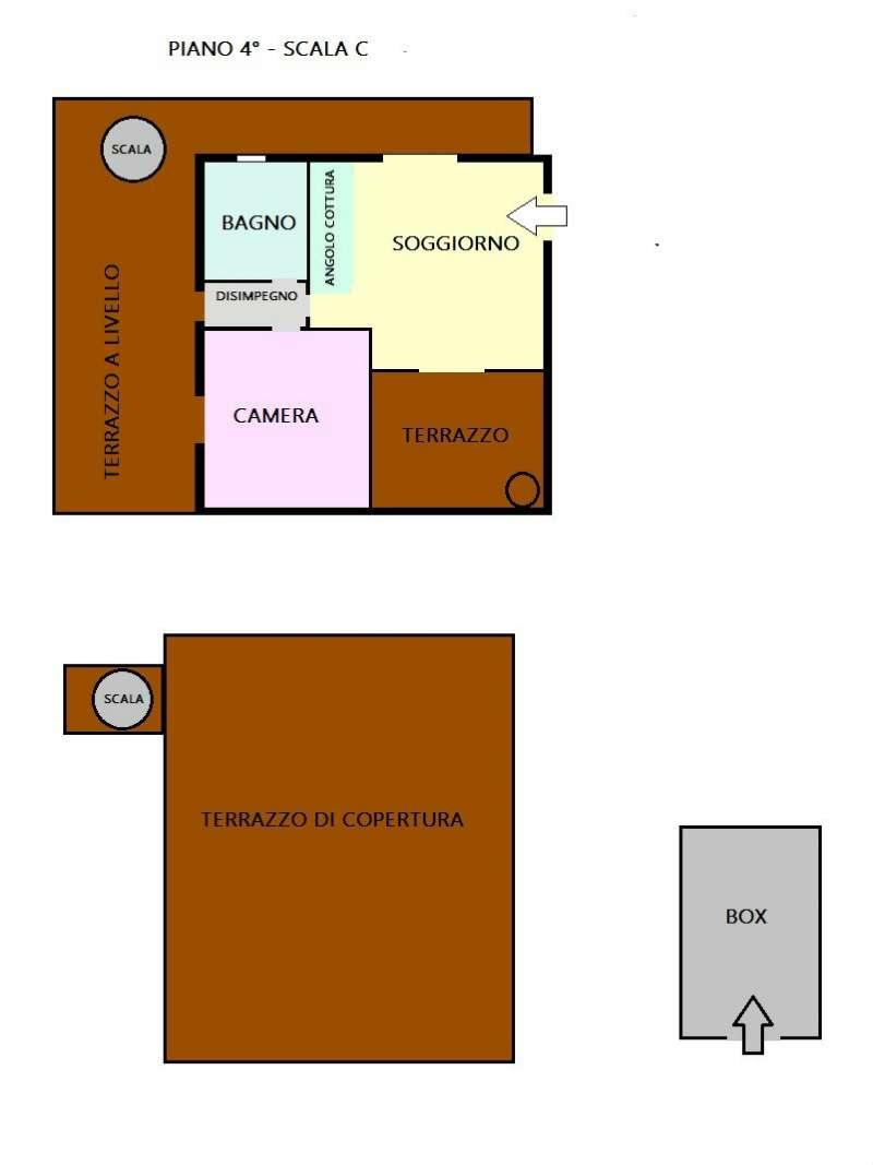 Vendita  bilocale Napoli Viale Due Giugno 1 1130120