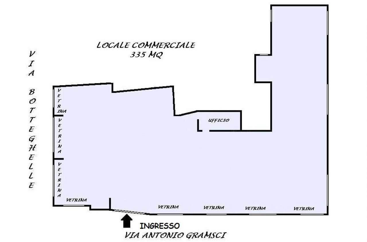 Negozio / Locale in affitto a San Giorgio a Cremano, 10 locali, prezzo € 4.000 | Cambio Casa.it