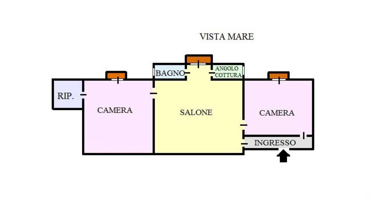 Appartamento in vendita a Portici, 3 locali, prezzo € 168.000 | Cambio Casa.it