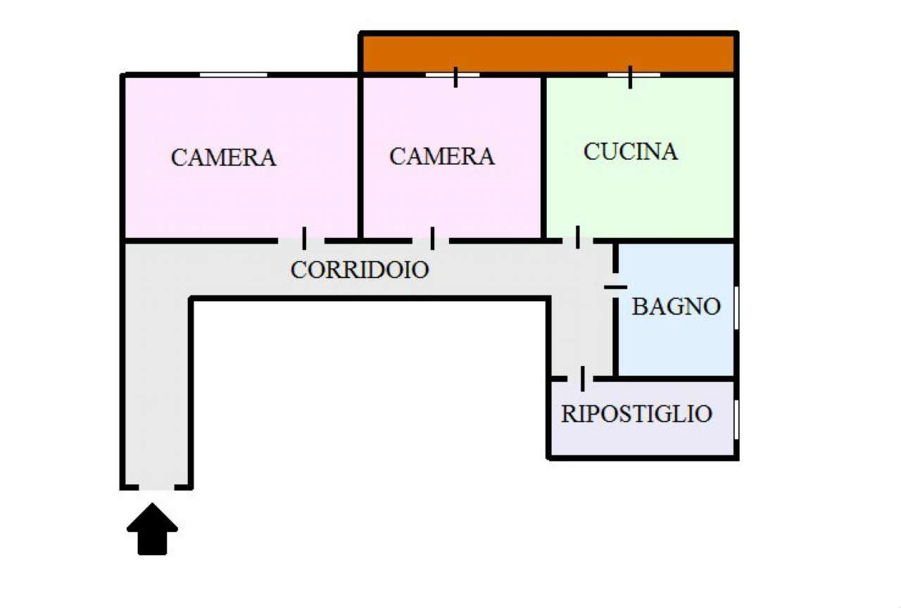 Appartamento in affitto a San Sebastiano al Vesuvio, 2 locali, prezzo € 500   Cambio Casa.it