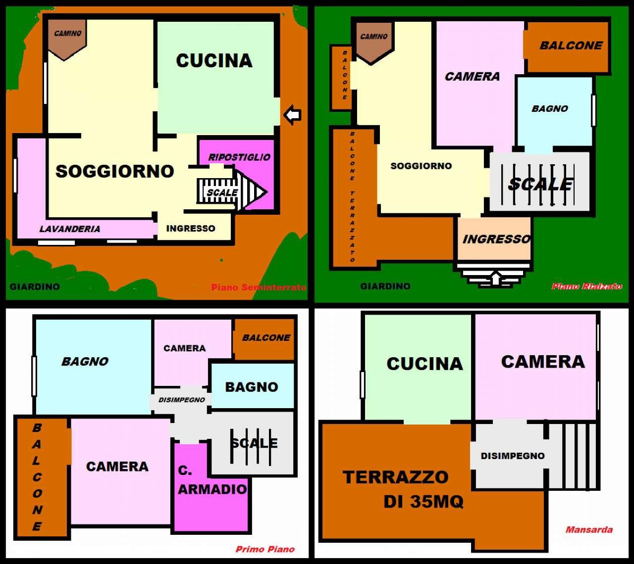 Villa a Schiera in Vendita a Pollena Trocchia