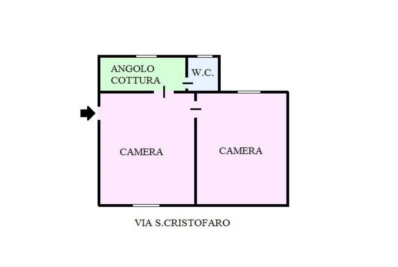 Appartamento in vendita a Portici, 2 locali, prezzo € 55.000 | Cambio Casa.it