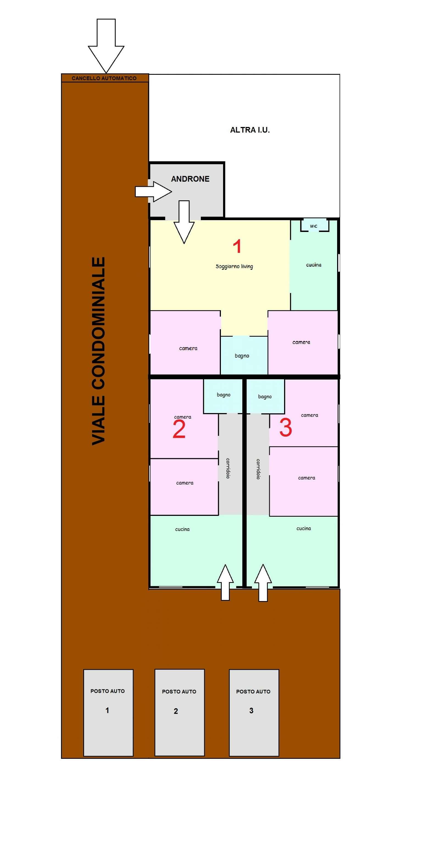 Appartamento in affitto a Sant'Anastasia, 2 locali, prezzo € 350 | Cambio Casa.it