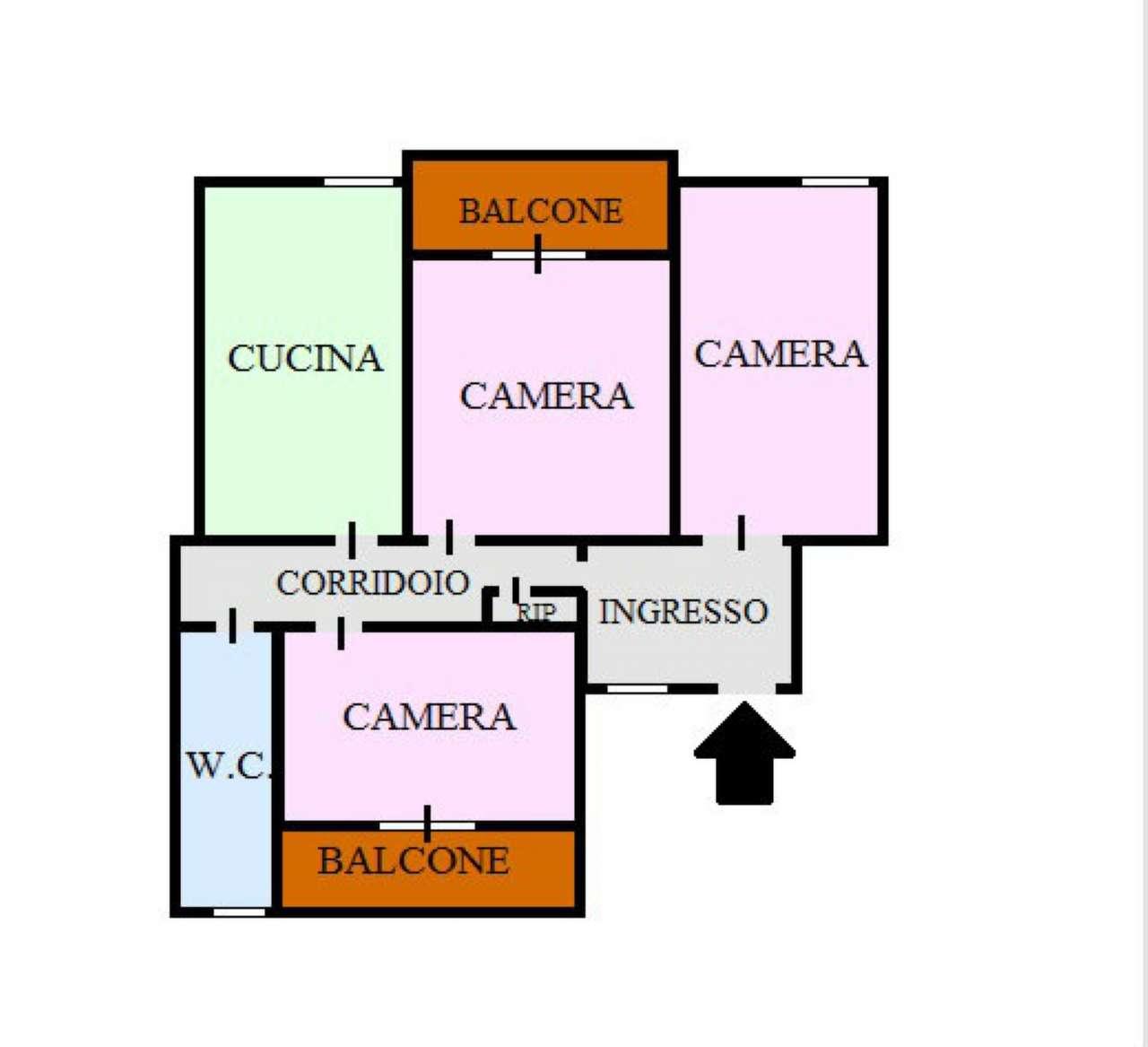 Appartamento in vendita a Portici, 3 locali, prezzo € 265.000 | Cambio Casa.it
