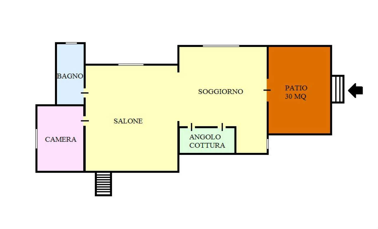 Villa a Schiera in vendita a Lacco Ameno, 7 locali, prezzo € 450.000 | CambioCasa.it