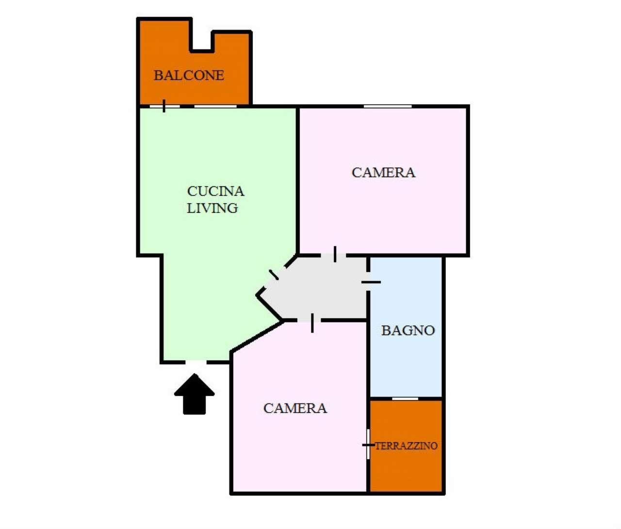 Appartamento in vendita a San Giorgio a Cremano, 2 locali, prezzo € 159.000 | CambioCasa.it