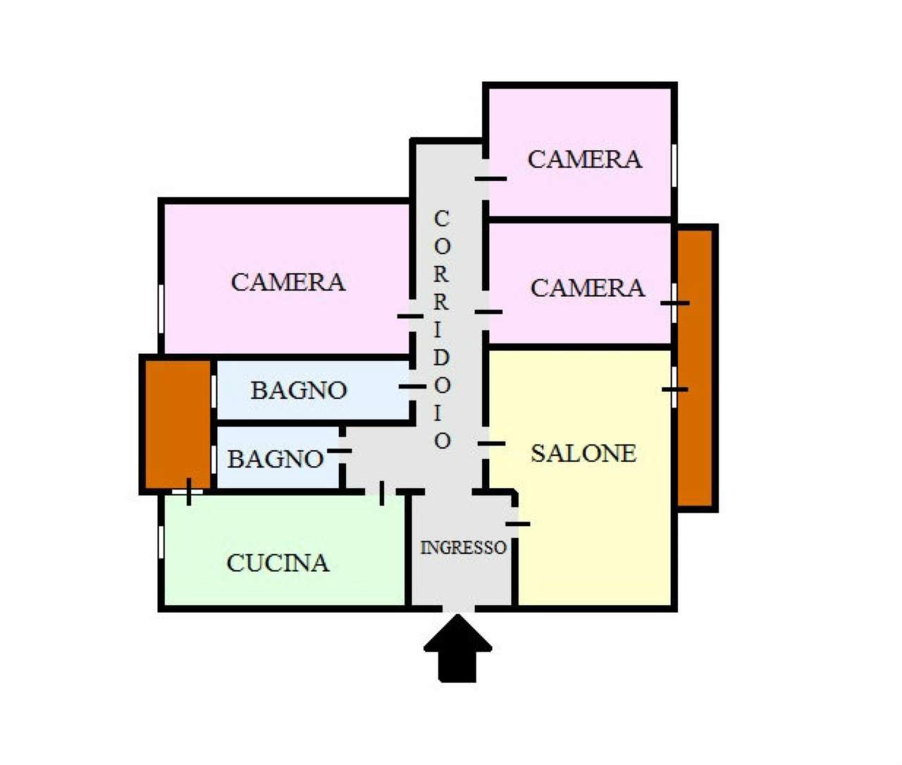 Appartamento in affitto a San Giorgio a Cremano, 4 locali, prezzo € 680 | CambioCasa.it