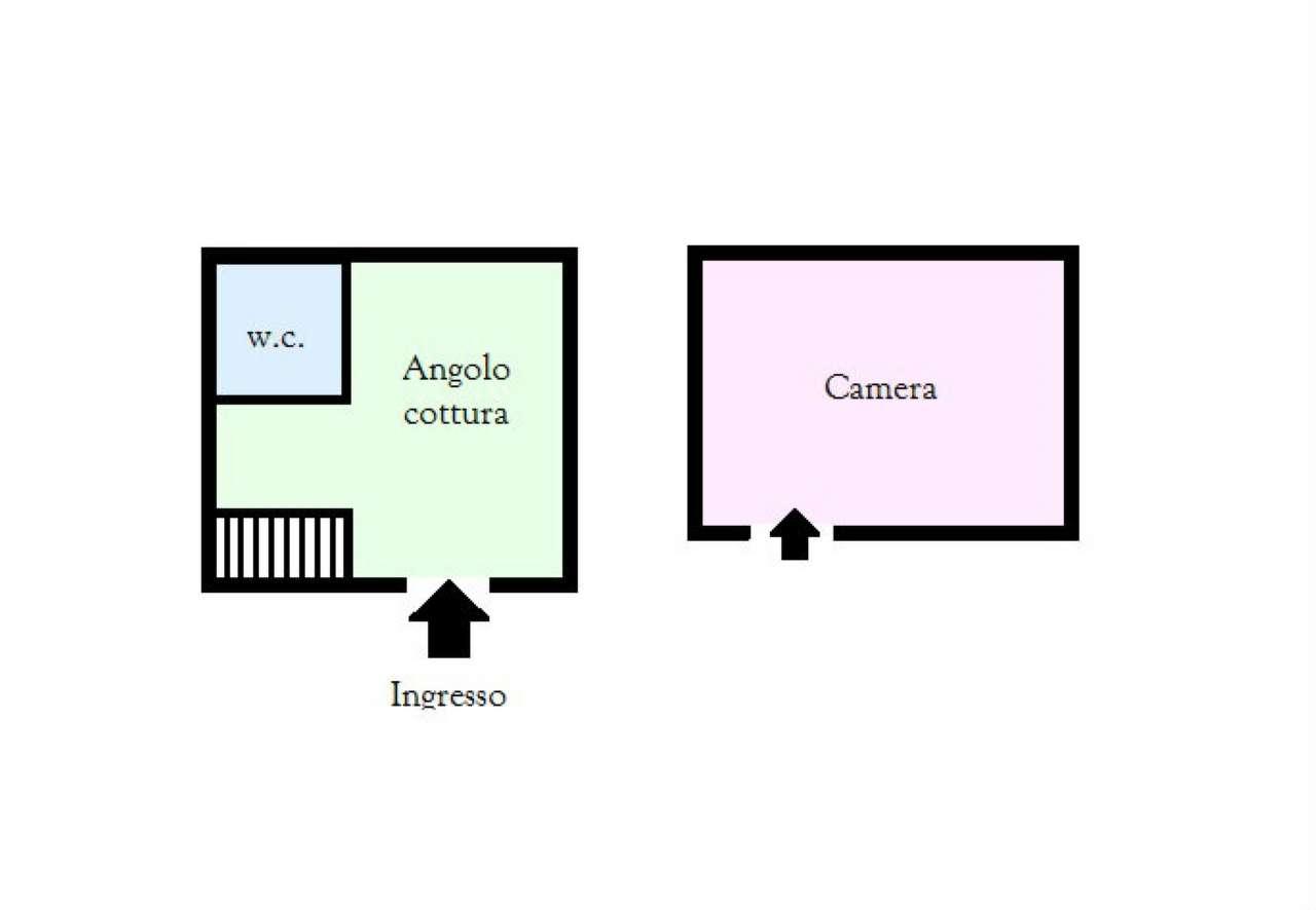 Appartamento in vendita a Ercolano, 1 locali, prezzo € 40.000   CambioCasa.it