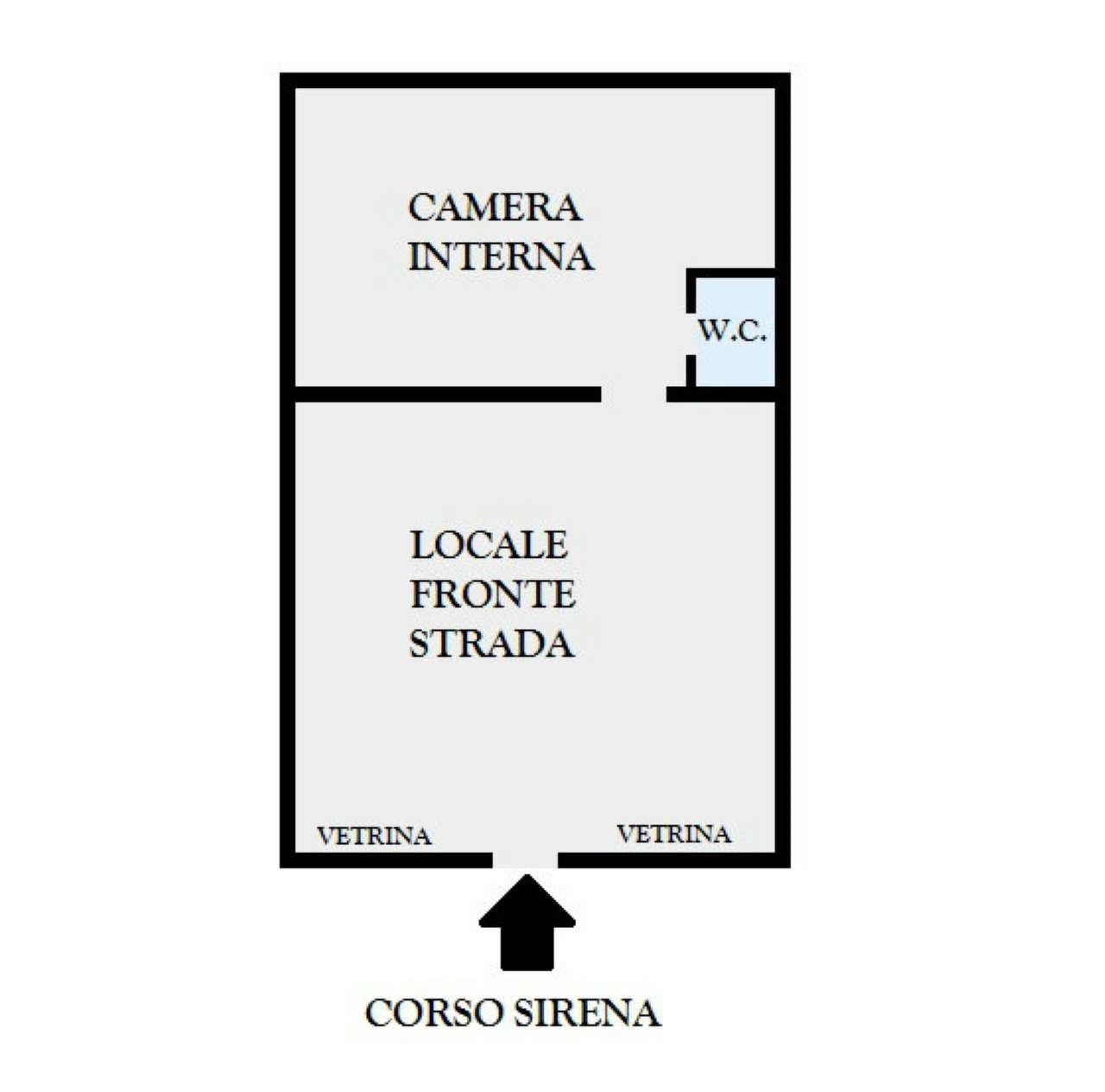 Locale commerciale monolocale in vendita a Napoli (NA)