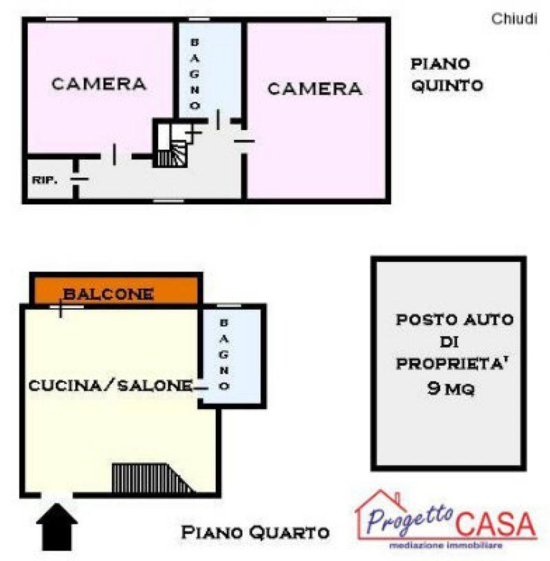 Appartamento in vendita a Maiori, 3 locali, prezzo € 150.000 | Cambio Casa.it