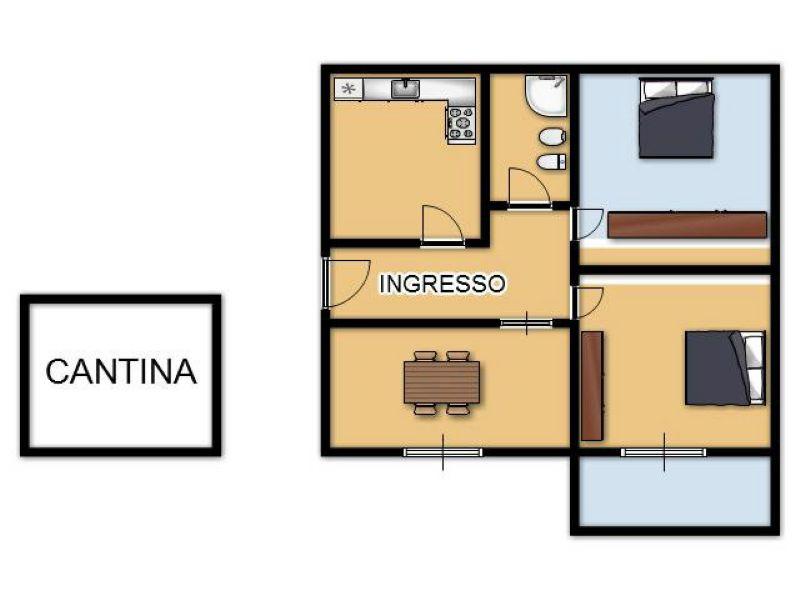 Appartamento in affitto a San Giovanni in Persiceto, 4 locali, prezzo € 600 | Cambio Casa.it