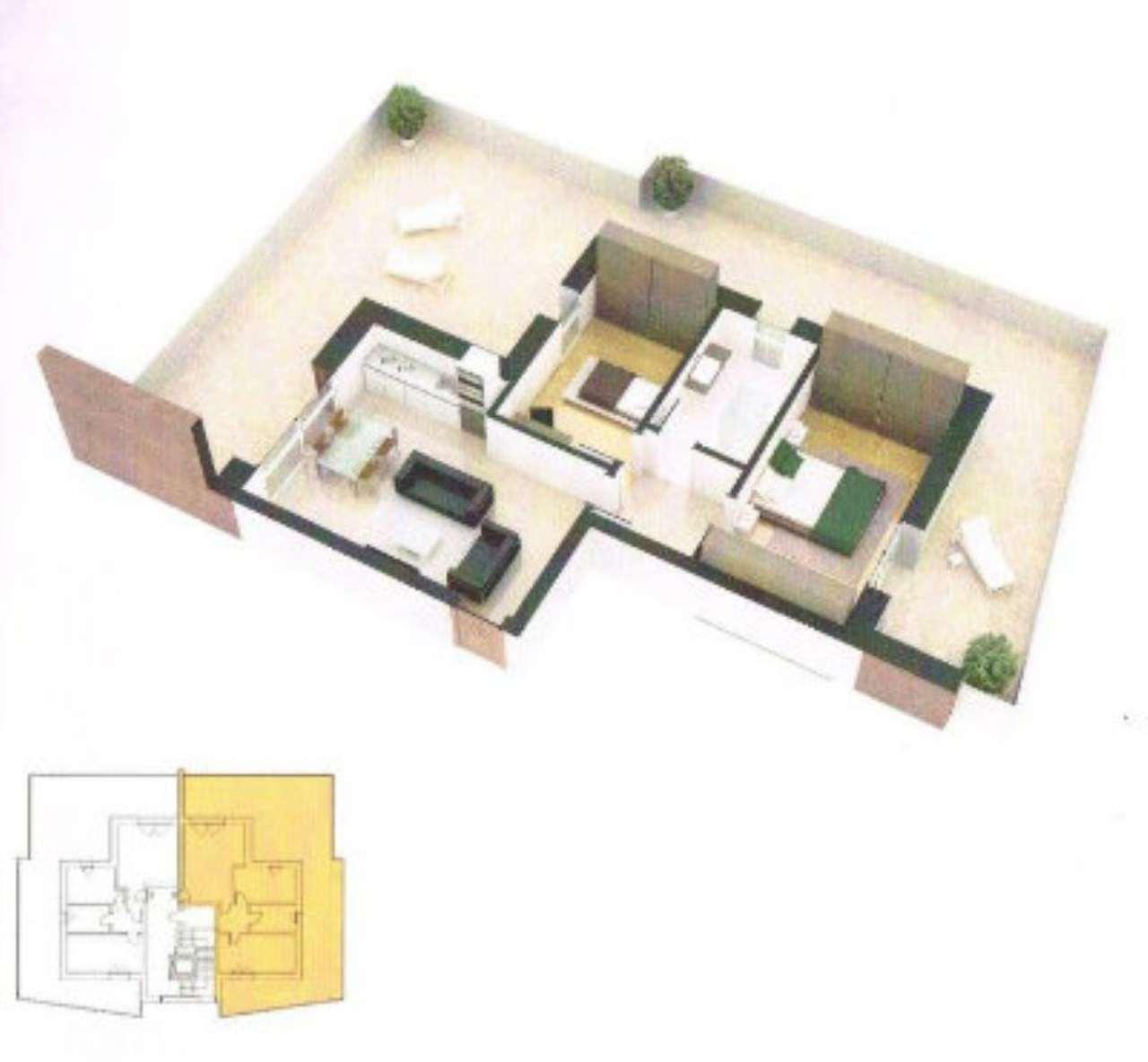Attico / Mansarda in vendita a Sant'Agata Bolognese, 3 locali, prezzo € 250.000   Cambio Casa.it