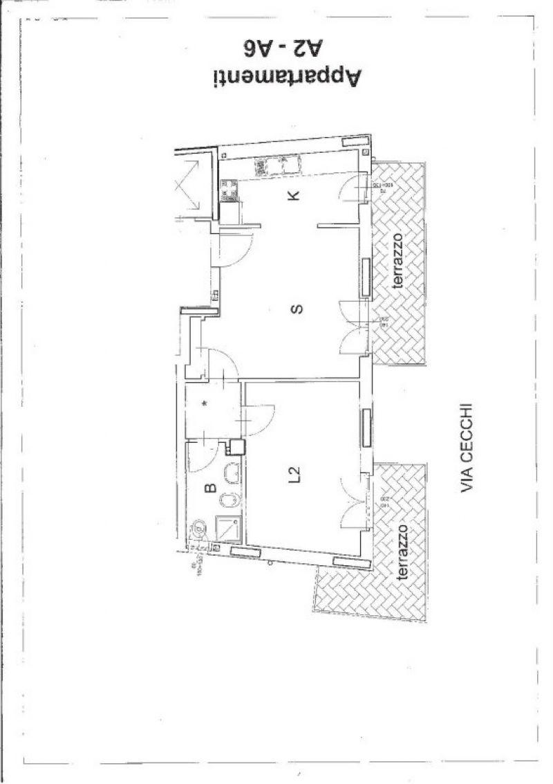 Vendita  bilocale Torino Via Antonio Cecchi 1 215247