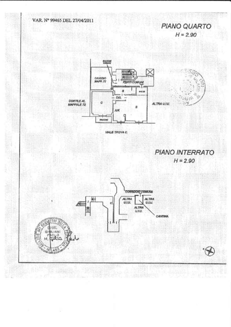 Vendita  bilocale Milano Viale Viale Troya 1 943939