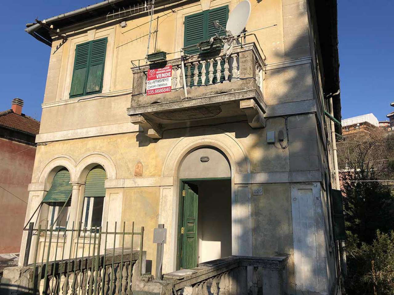 Foto 1 di Palazzo / Stabile via STRUPPA 226, Genova (zona Valbisagno (Prato-Molassana-Struppa-S.Gottardo-S.Eusebio))