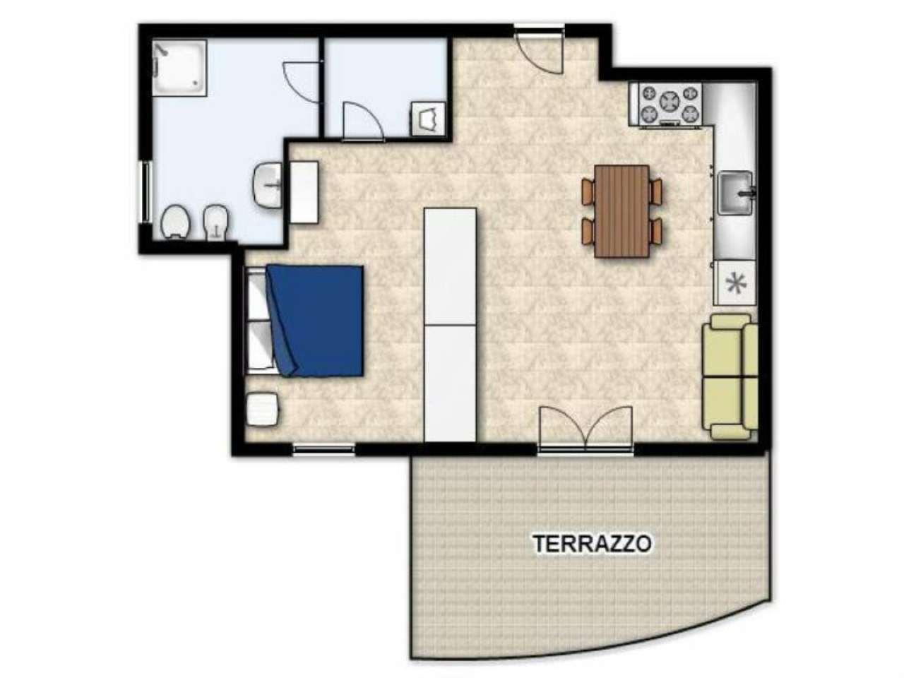 Appartamento in vendita a Castel Maggiore, 1 locali, prezzo € 124.000 | Cambio Casa.it