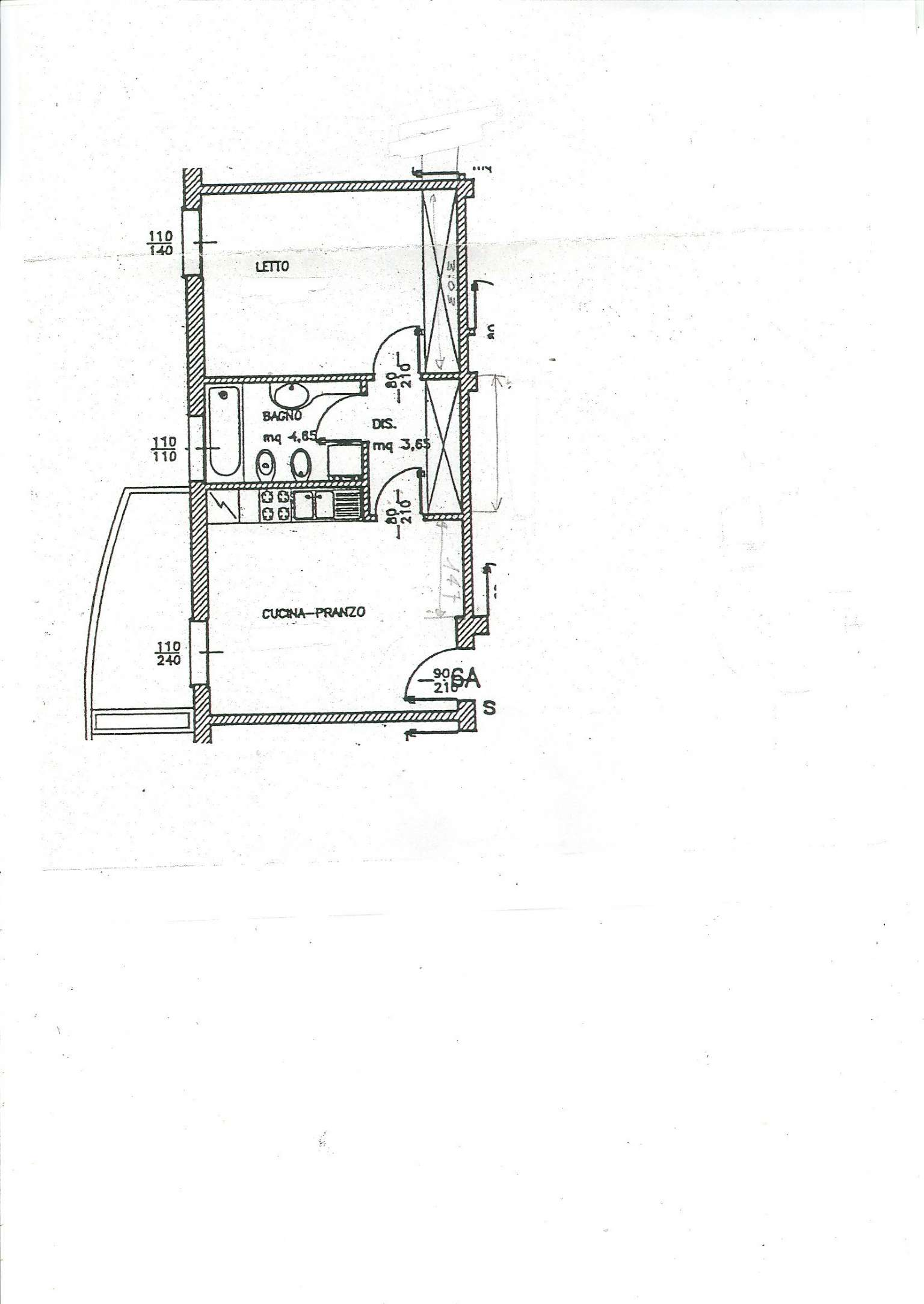 Vendita  bilocale Monzuno Via Dei Colli 1 846352