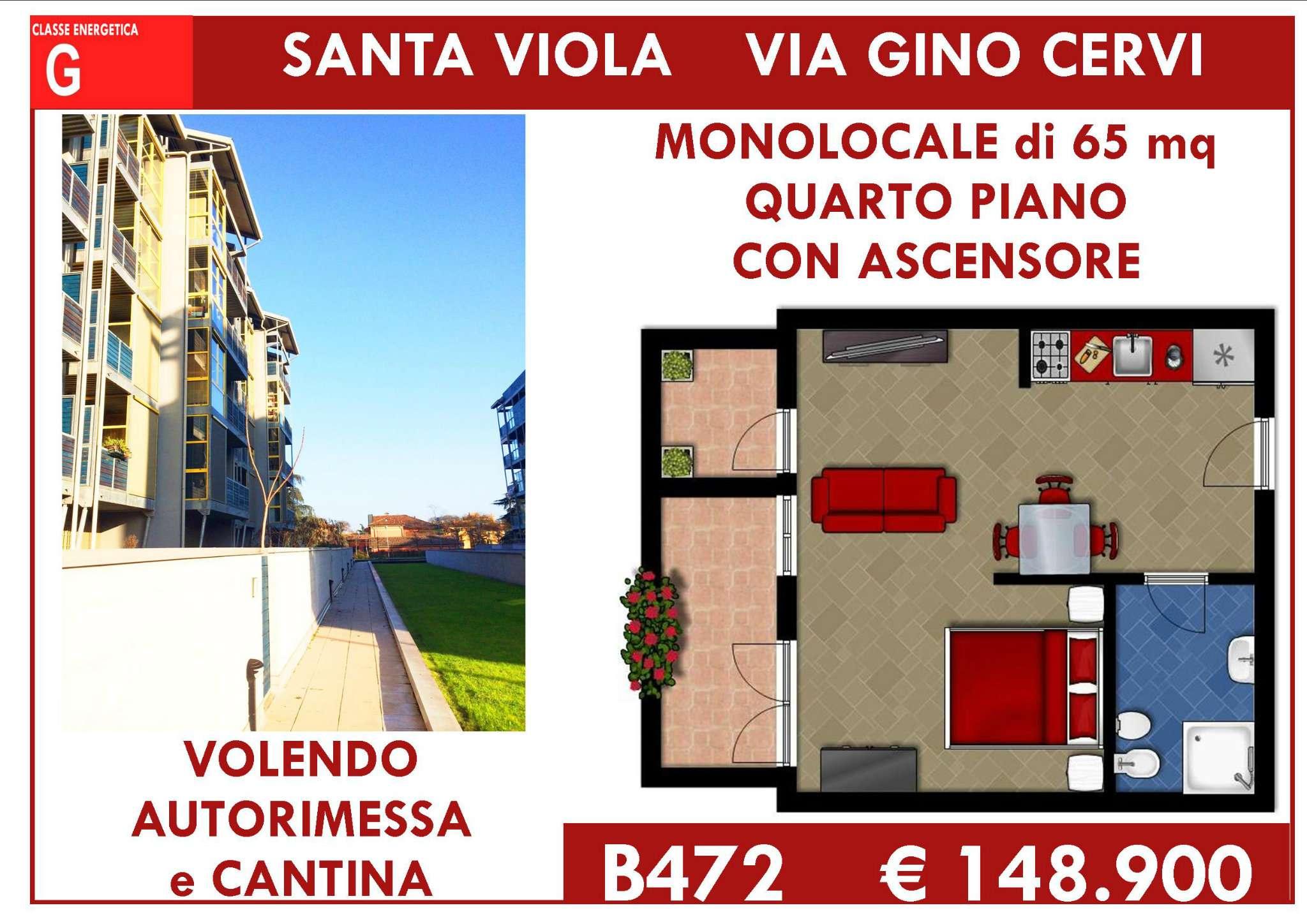 Bilocale Bologna Via Gino Cervi 1