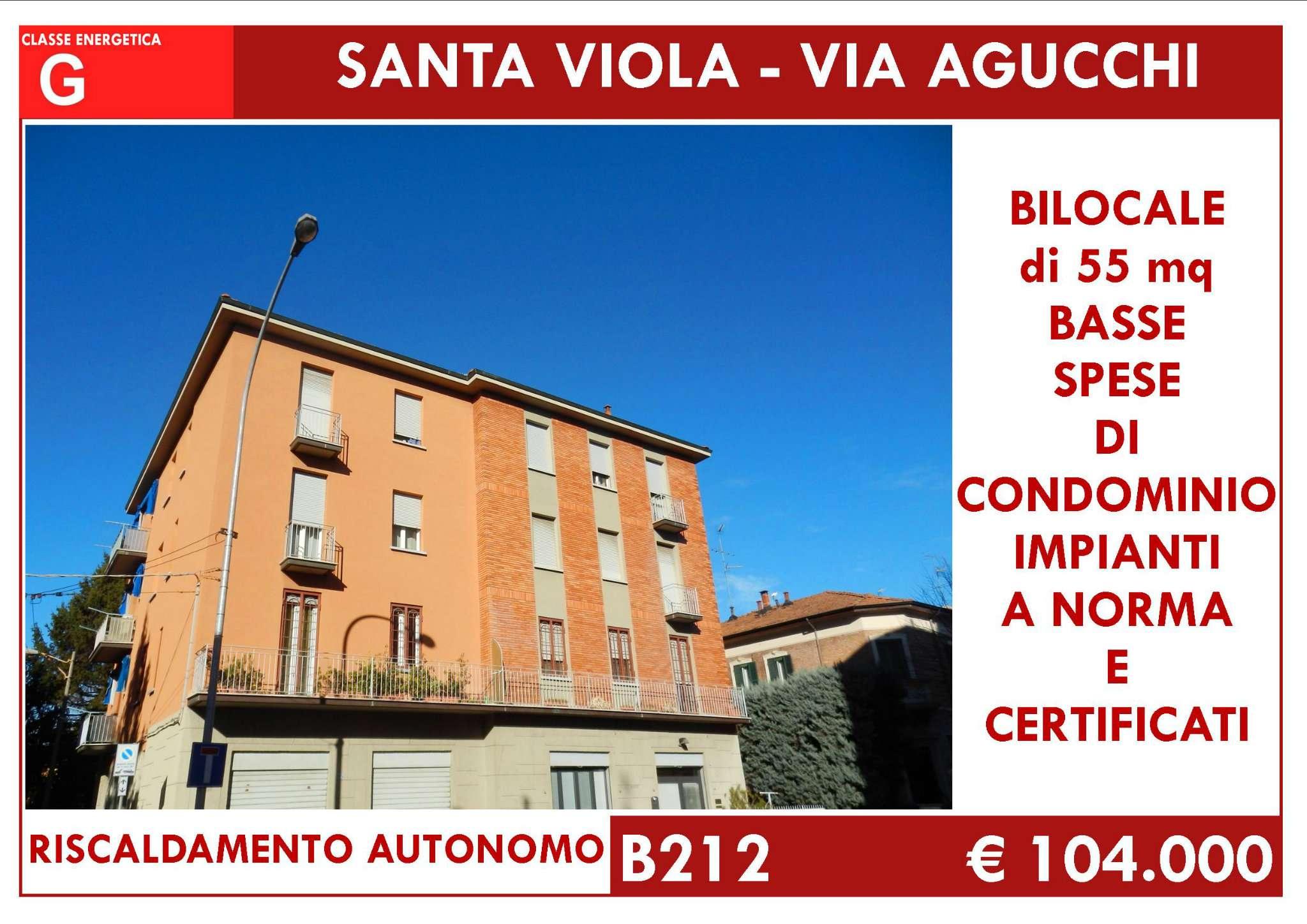 Bilocale Bologna Via Agucchi 1