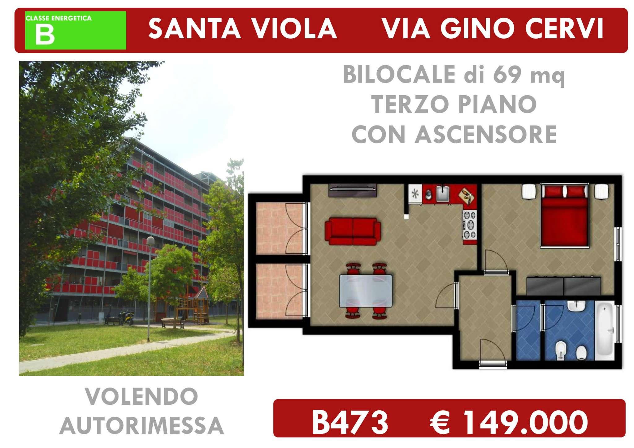 Bilocale vendita bologna zona san viola for Planimetrie della serra
