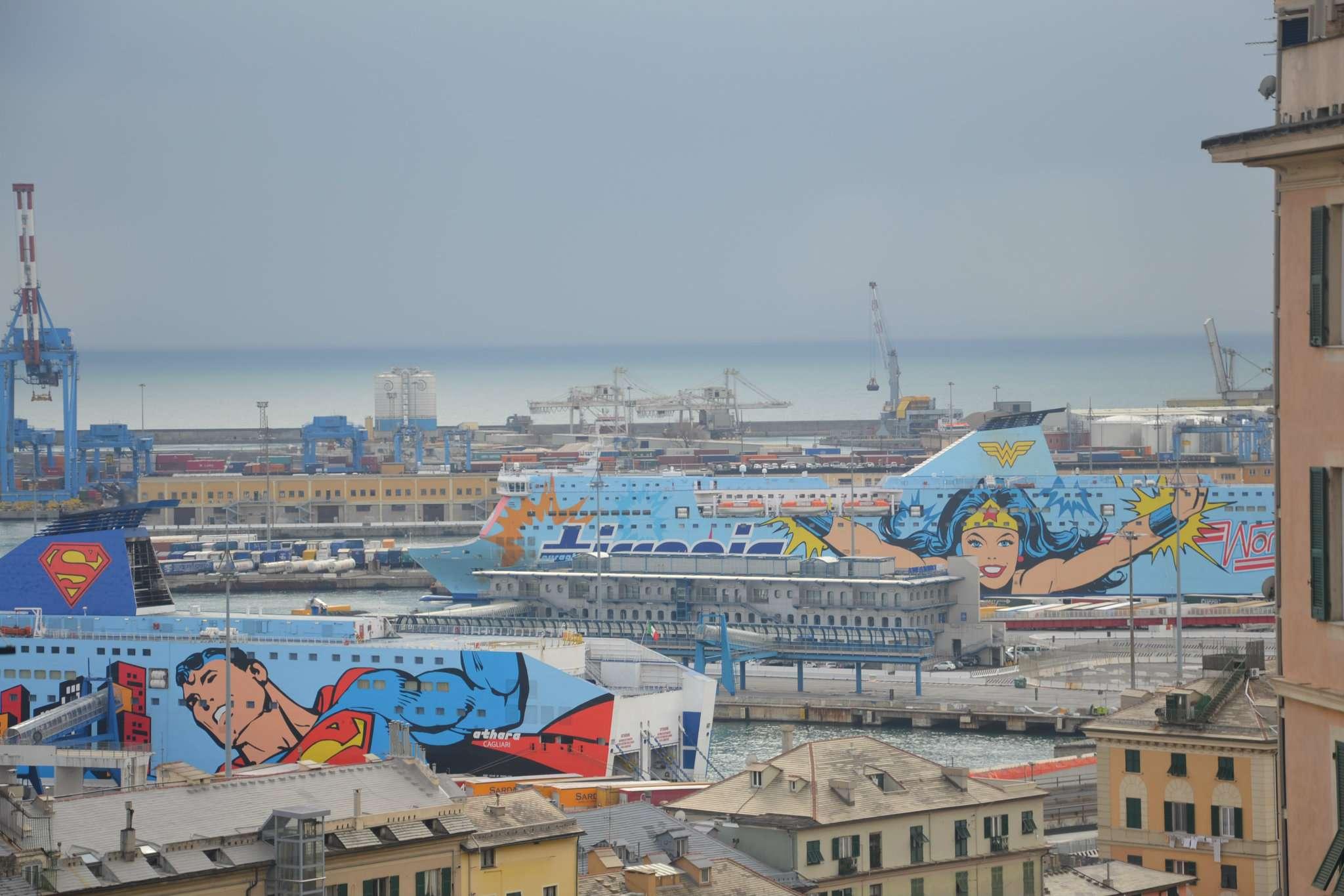 Foto 1 di Quadrilocale via Pagano Doria, Genova (zona Principe)