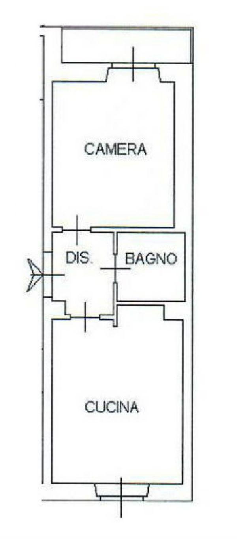 Vendita  bilocale Torino Via Melezet 1 935357
