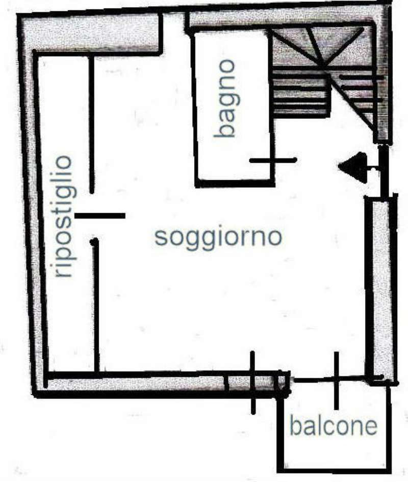 Vendita  bilocale Oulx Via Dei Laghi 1 925562