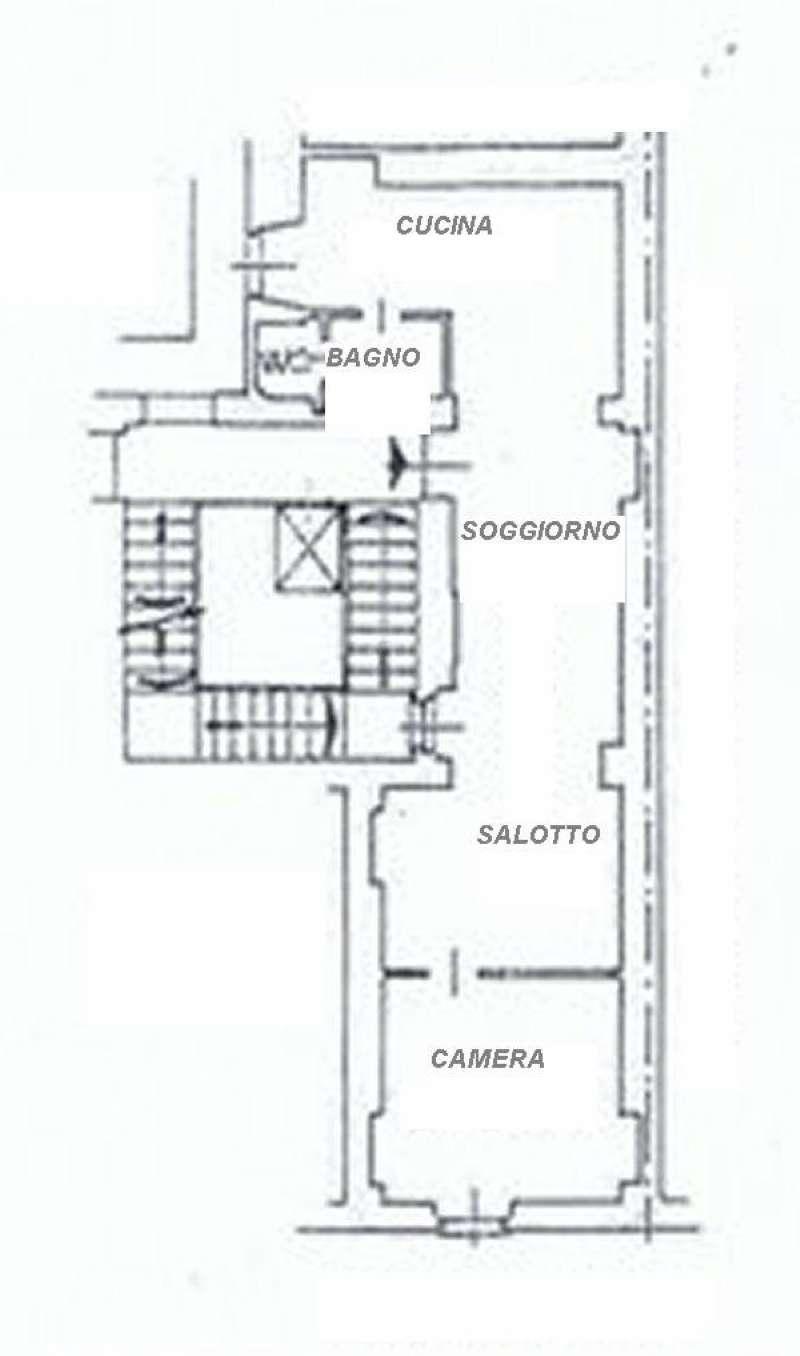 Vendita  bilocale Torino Via Saluzzo 1 472417