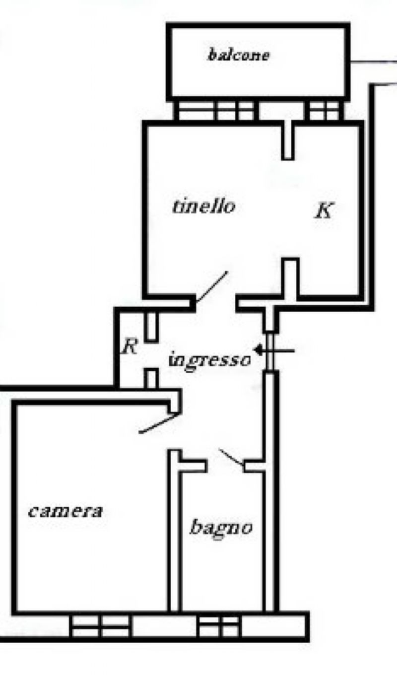 Vendita  bilocale Torino Via Pasquale Paoli 1 505575