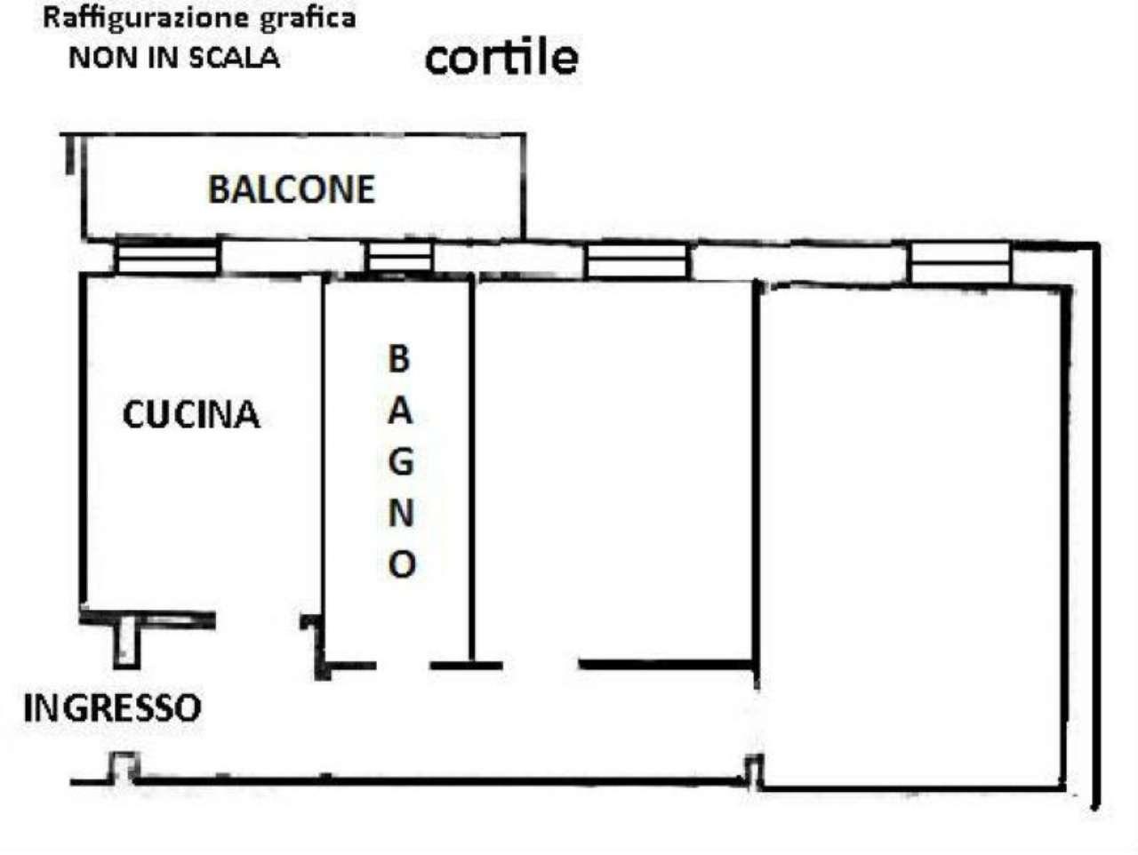 Vendita  bilocale Bollate Via San Pietro 1 1060579