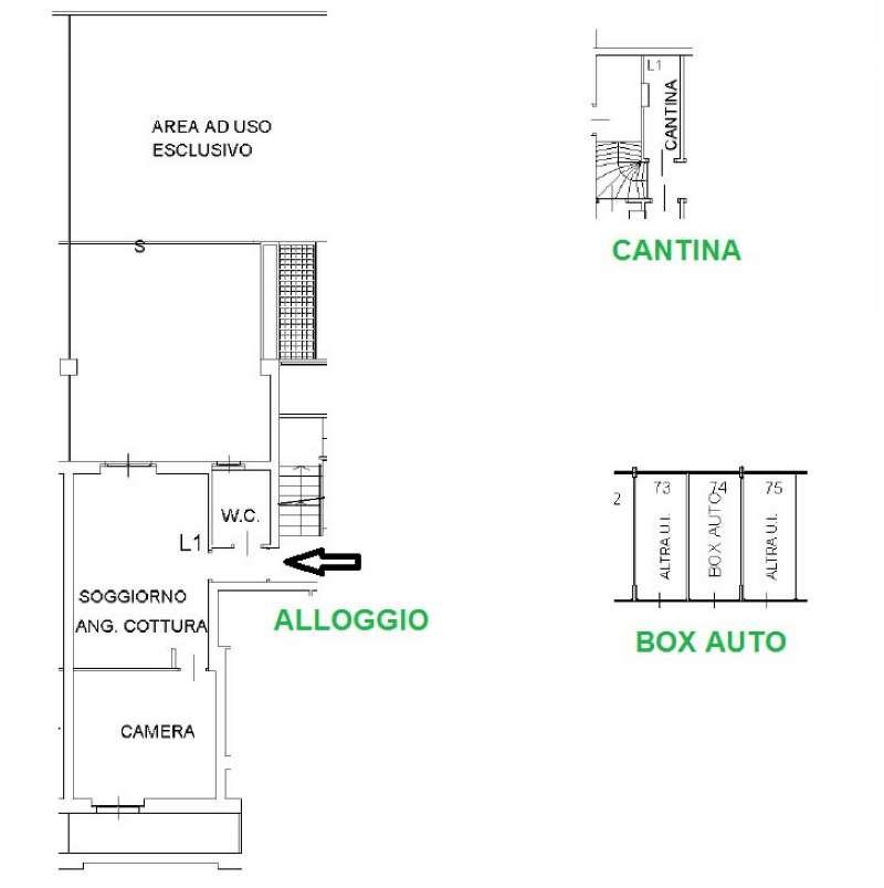 Vendita  bilocale Settimo Torinese Via Colle Dell'assietta 1 1430518