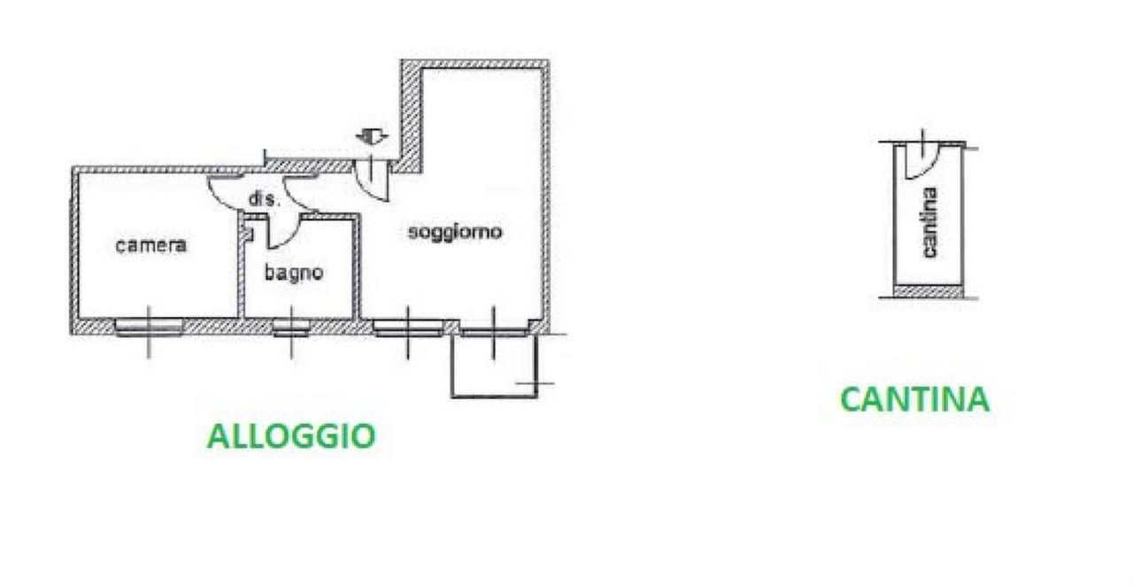 Vendita  bilocale Settimo Torinese Via Monginevro 1 1515871