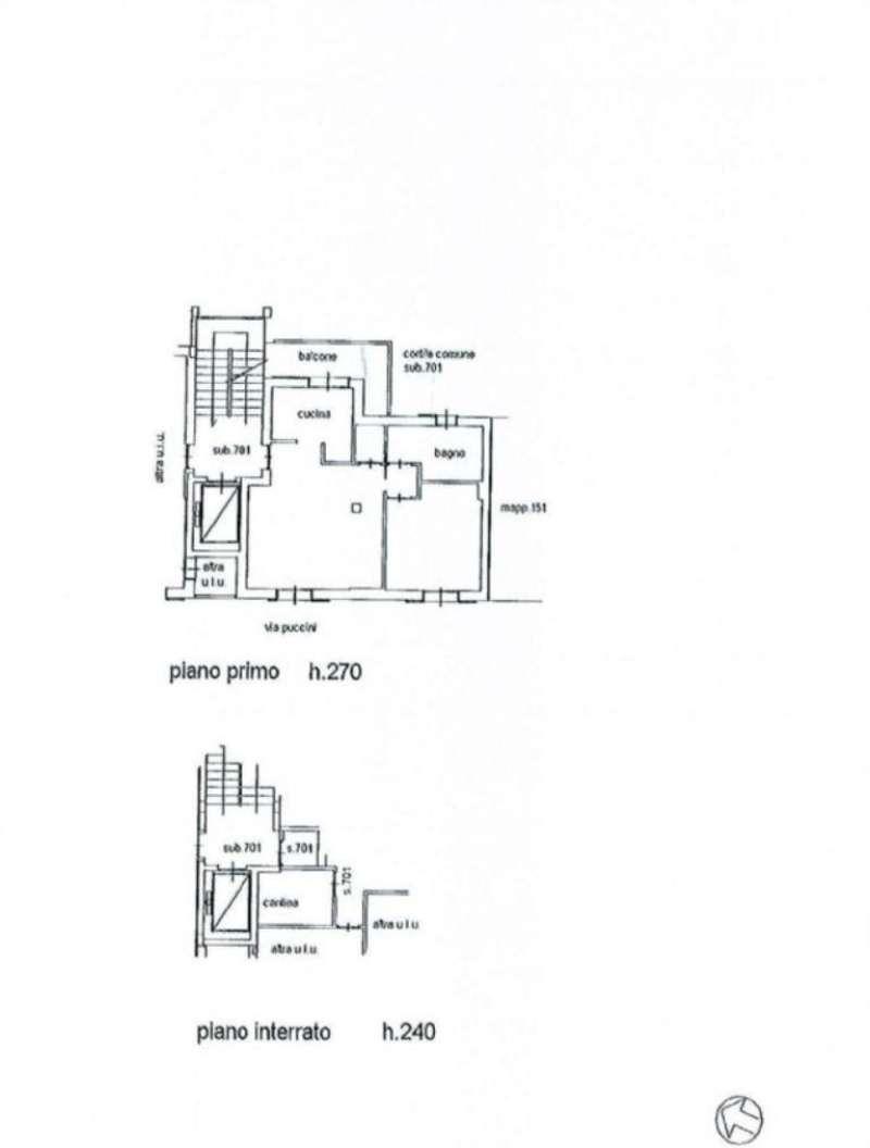 Vendita  bilocale Lissone Via Puccini 1 930186