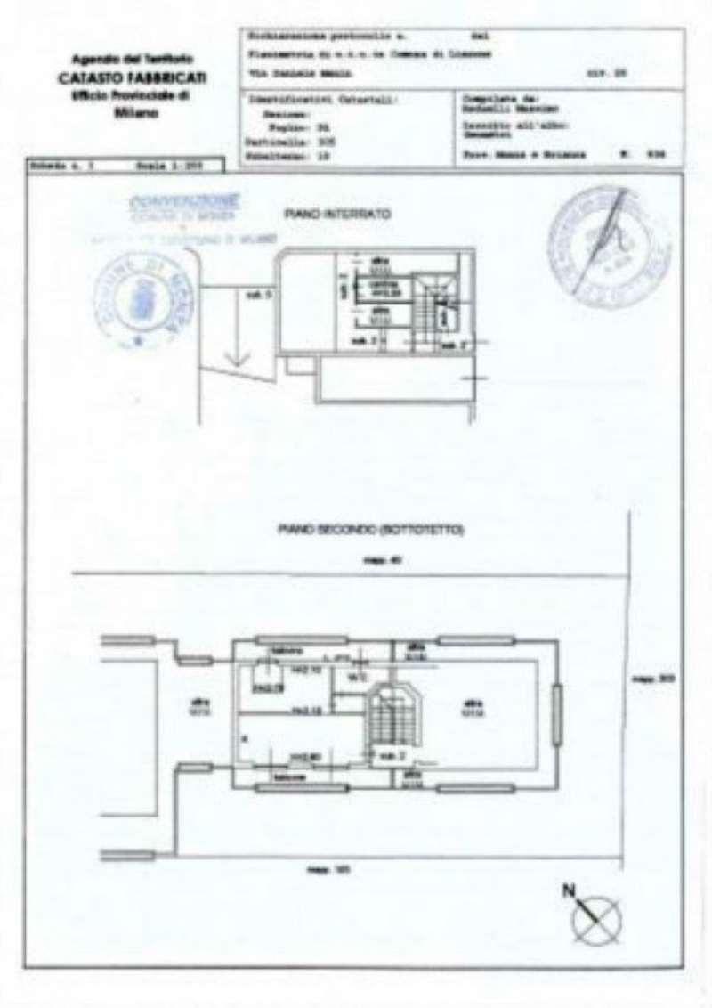 Vendita  bilocale Lissone Via Manin 1 963040