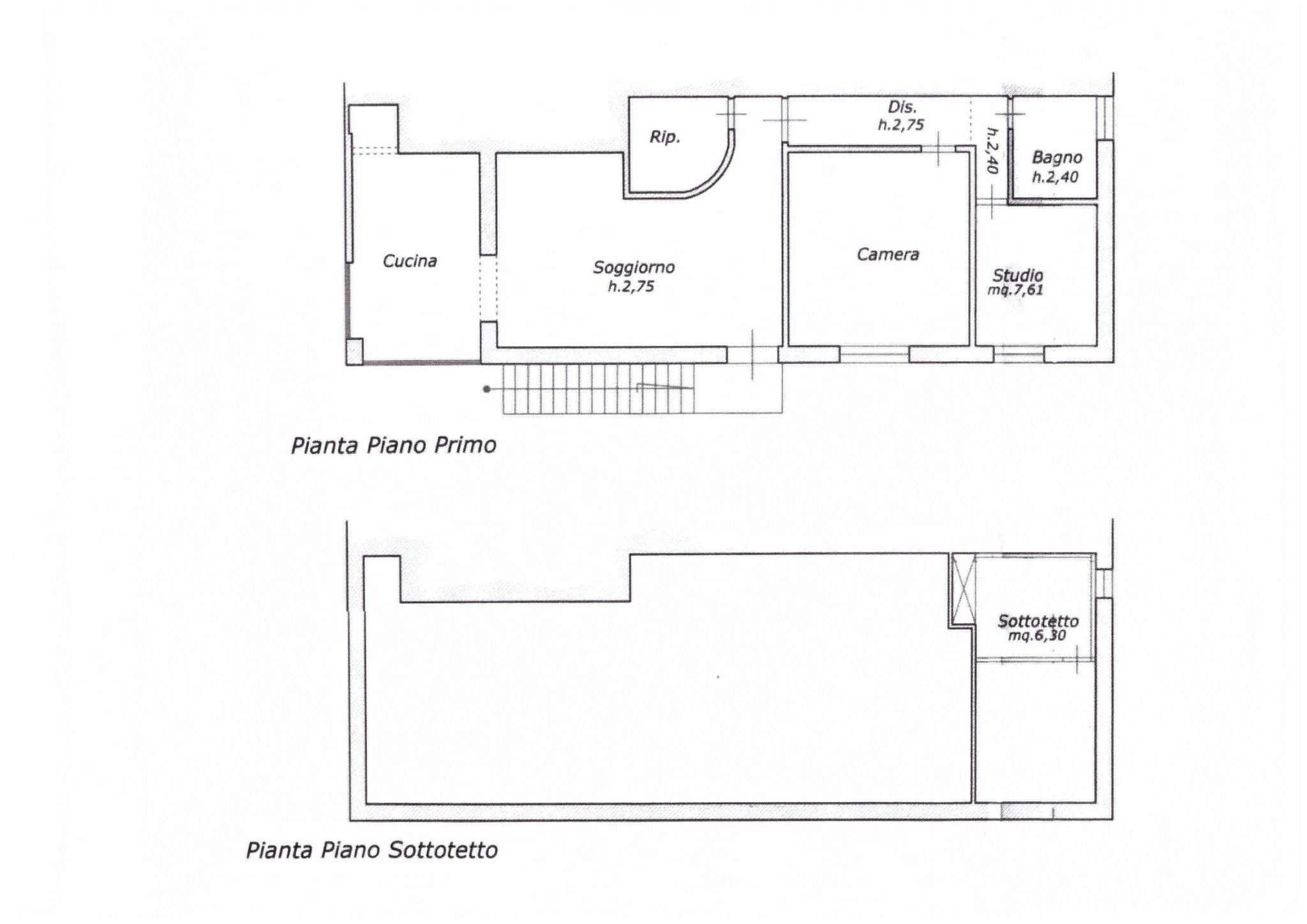 Vendita  bilocale Pisa Via Bertani 1 1069328