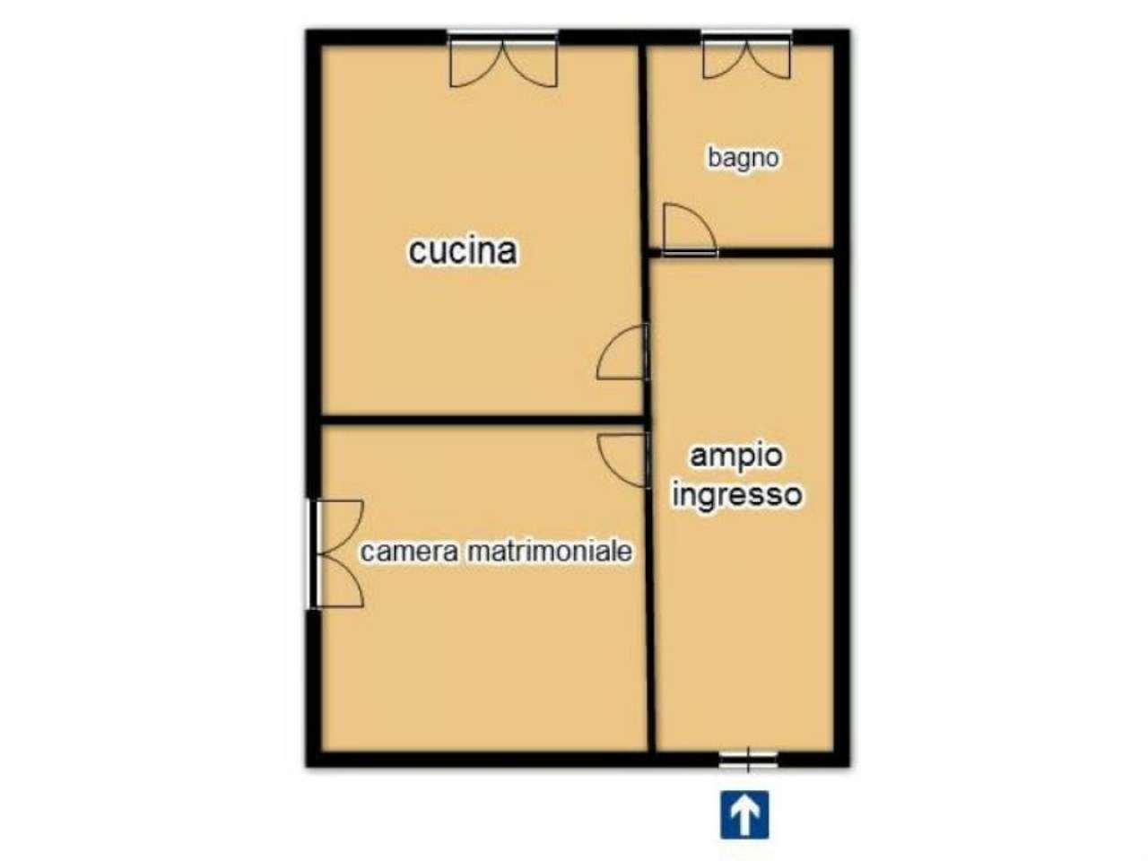 Affitto  bilocale Pisa Via Montanelli 1 674172