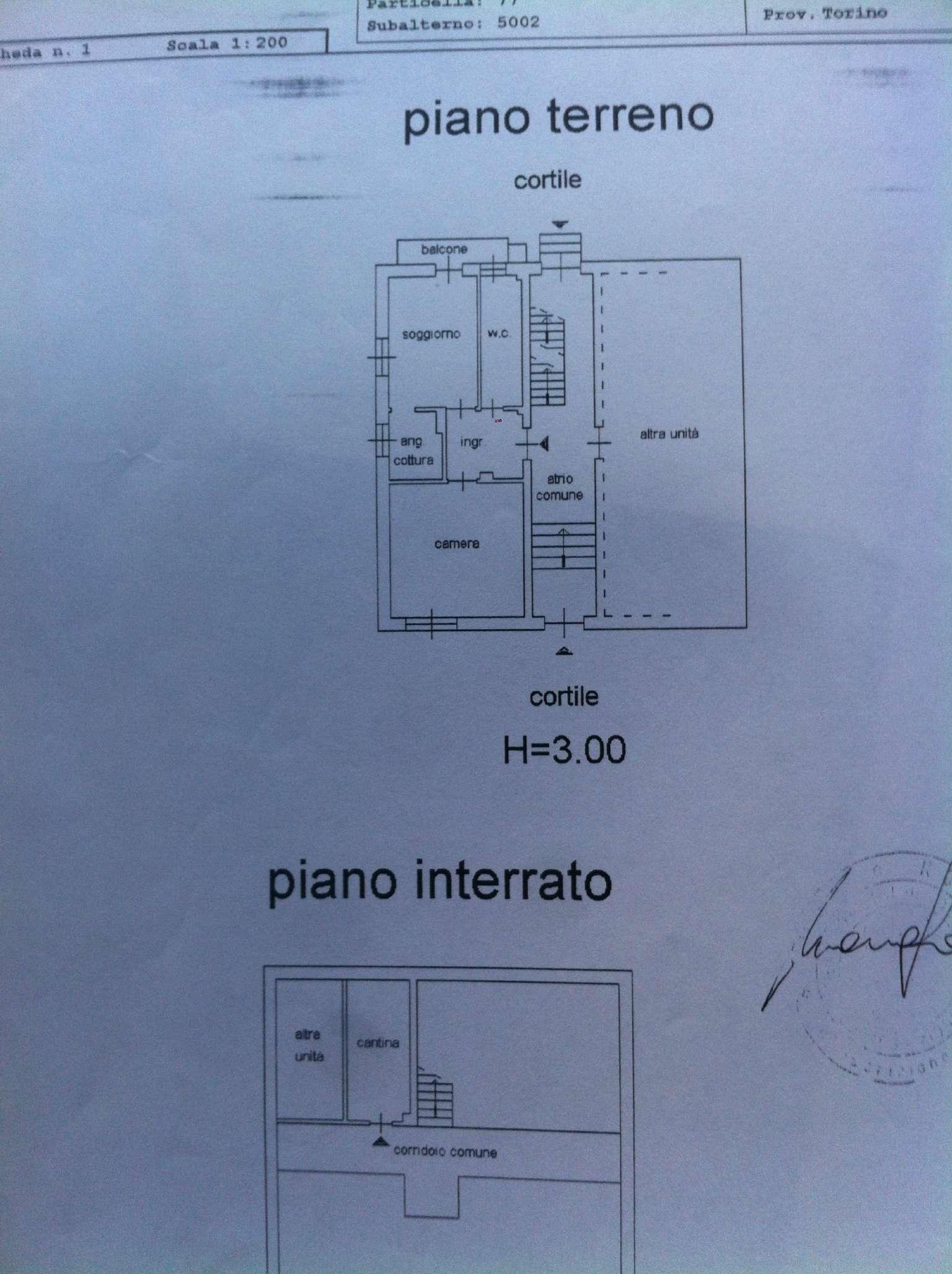 Vendita  bilocale Grugliasco Via Quenda 1 931075