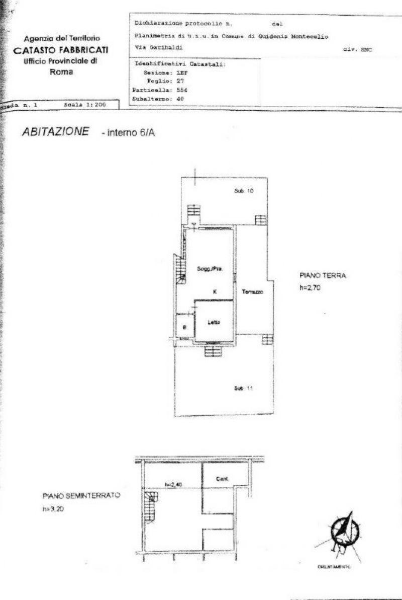 Vendita  bilocale Guidonia Montecelio Via Giuseppe Garibaldi 1 449514
