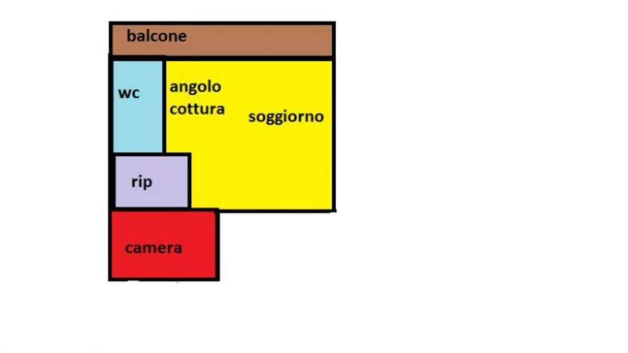 Affitto  bilocale Agrate Brianza Via Lecco 1 1089471