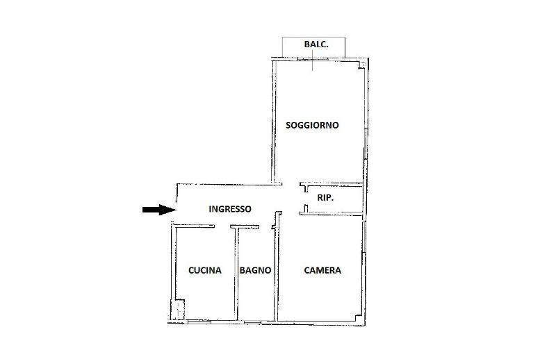 Vendita  bilocale Bresso Via Isimbardi 1 1015896
