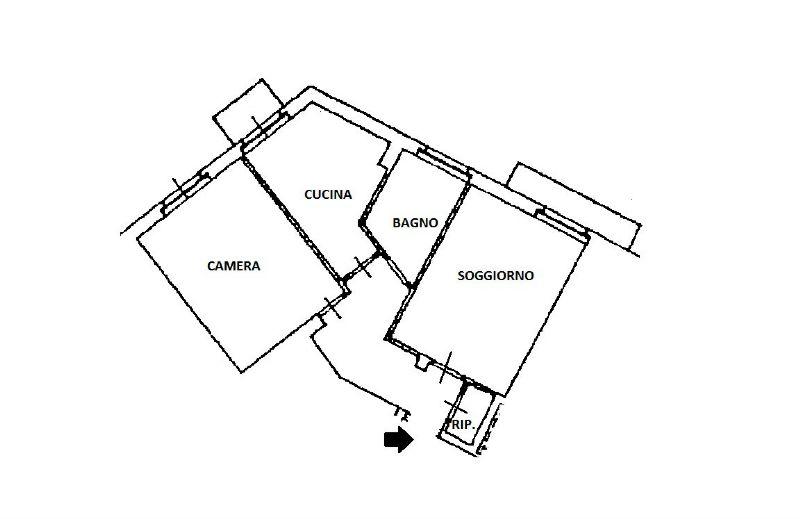 Vendita  bilocale Milano Viale Lucania 1 1055536