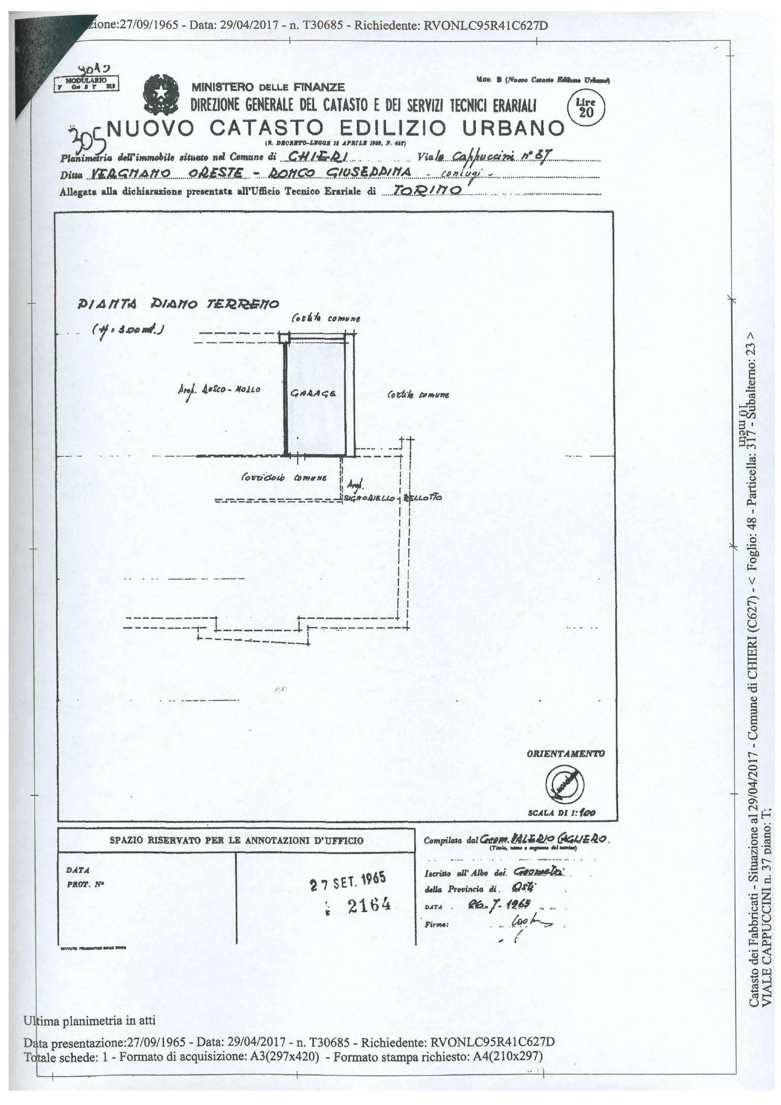 Chieri Vendita BOX Immagine 1