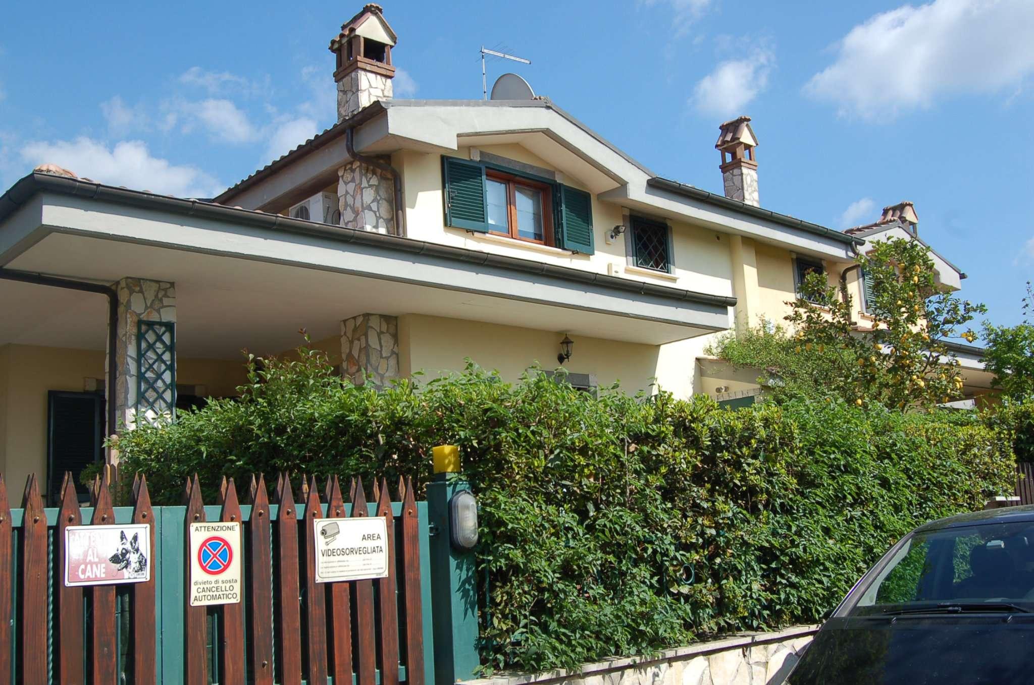 Vendita Ville Fiano Romano Via Genova