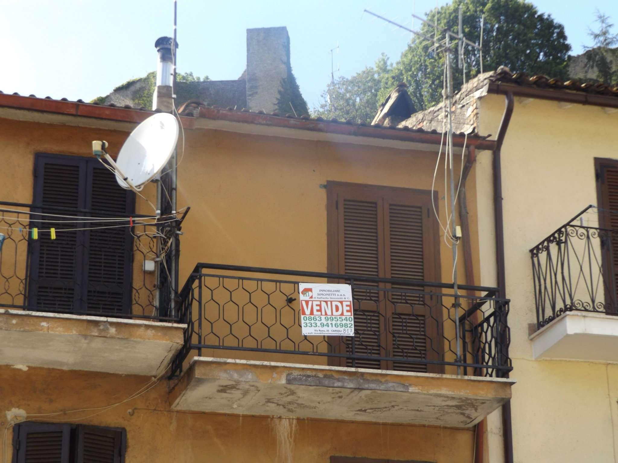 Palazzo / Stabile in vendita a Carsoli, 4 locali, prezzo € 45.000 | CambioCasa.it