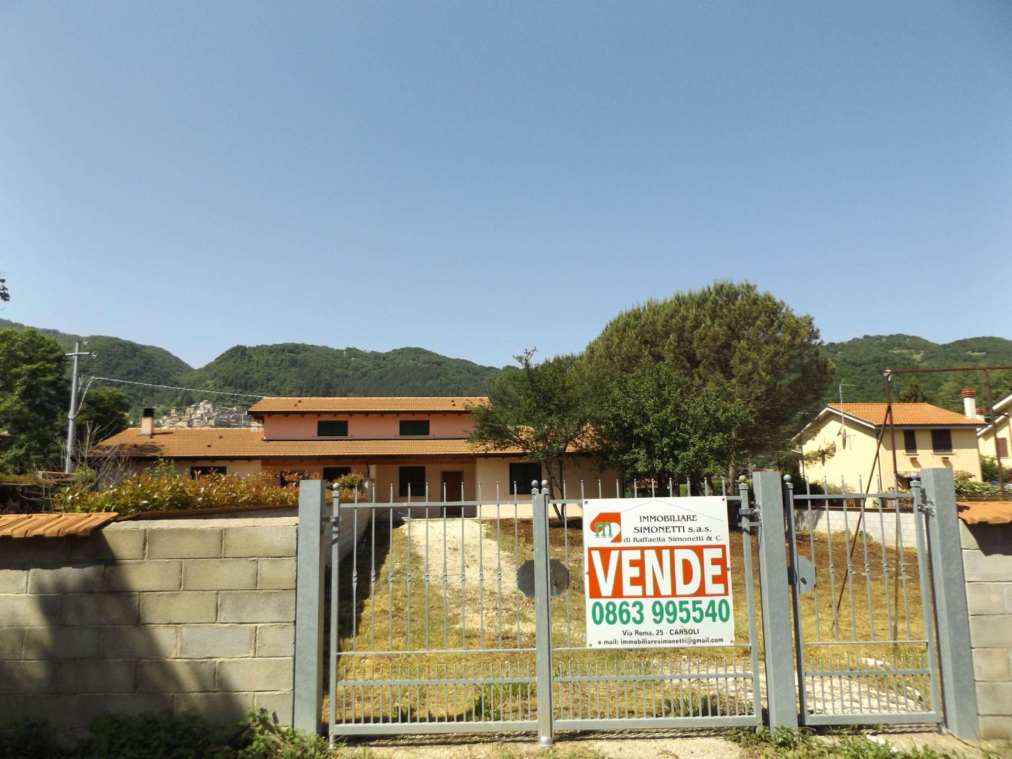 Villetta bifamiliare/Duplex a Rocca di Botte
